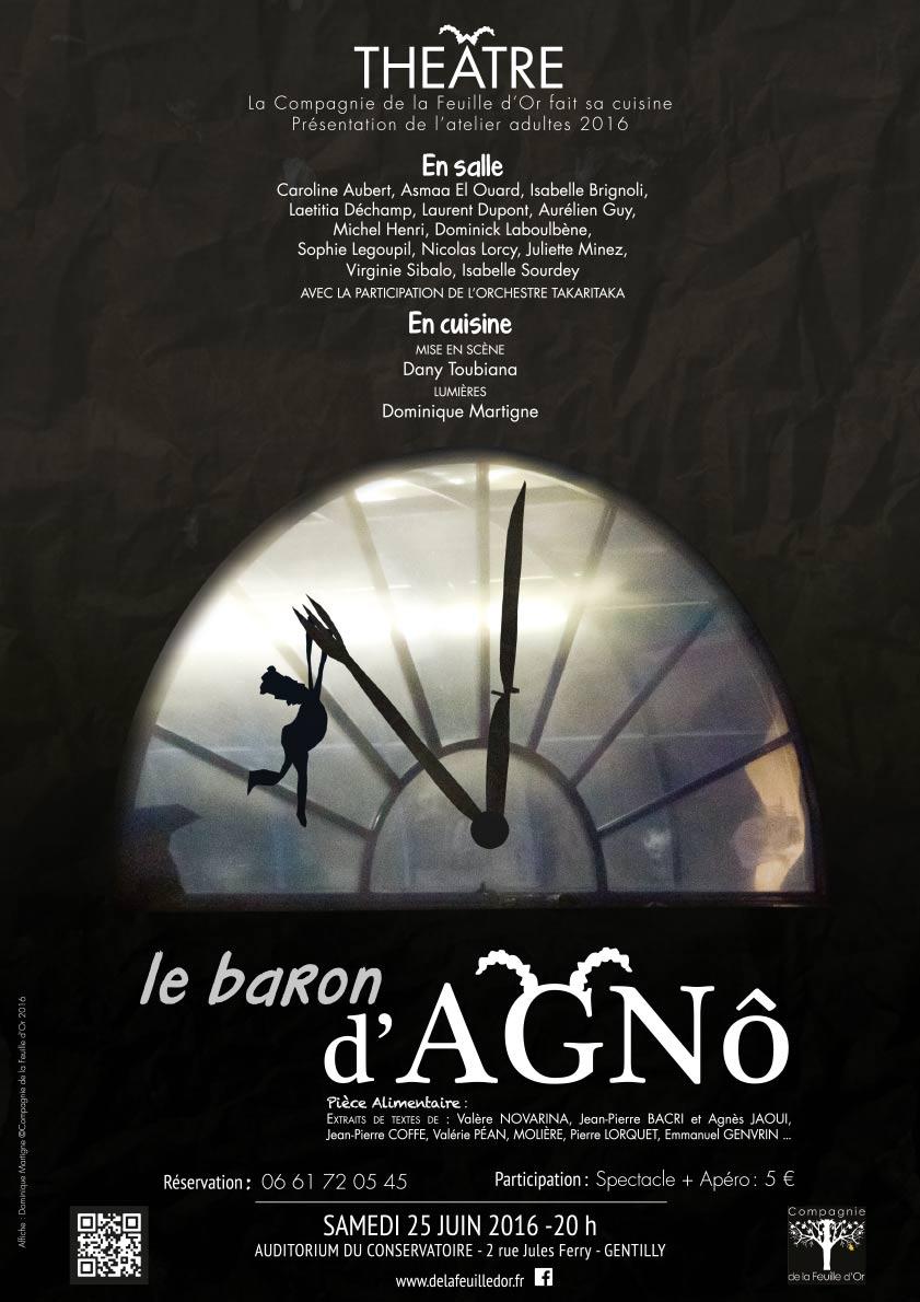 Affiche le Baron d'Agnô
