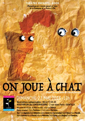 On jour à Chat - Affiche Dominique Martigne 2016