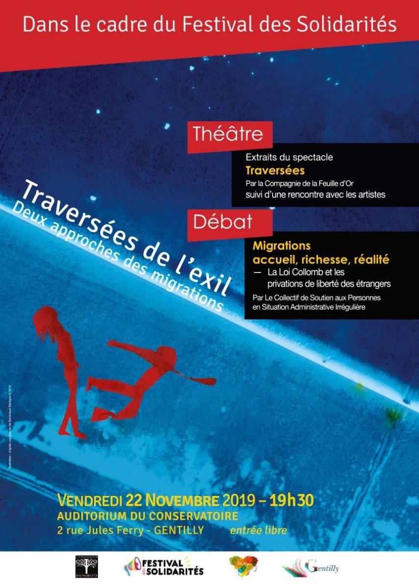 festival des solidarités Gentilly Traversées de l'exil