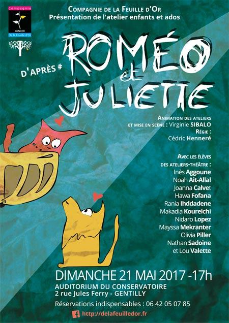 Roméo et Juiliette - Affiche Dominique Martigne 2017