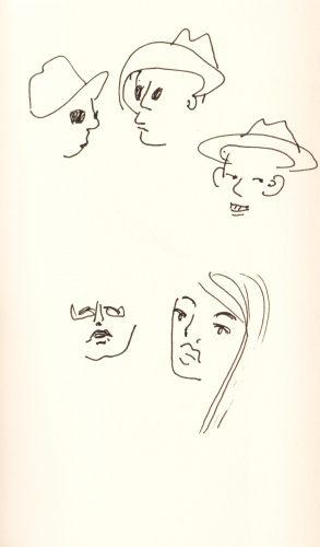 Magda Moraczewska - dessins de théâtre