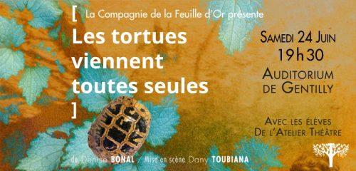Présentation des ateliers théâtres tortues